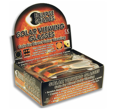 eclipse glasses retail display box