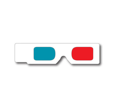 Hand Held 3D Glasses