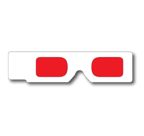 red decoder hand held glasses