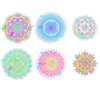 Mandala Suncatchers | Rainbow Decals