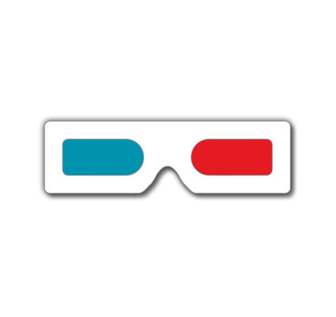 3D Glasses - Paper & Plastic 3D Glasses – Rainbow Symphony ...