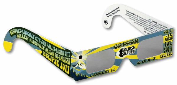 Eclipse Shades - Oregon 2017 + Commemorative Poster - 5 Pack