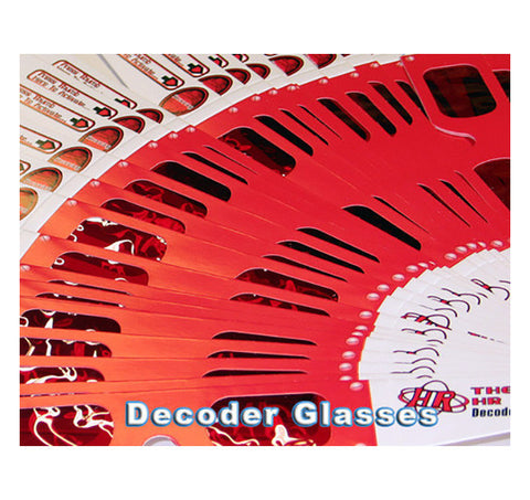 decoder glasses over runs
