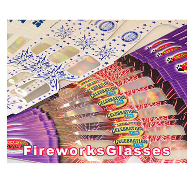 fireworks glasses over runs