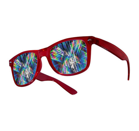 plastic diffraction glasses