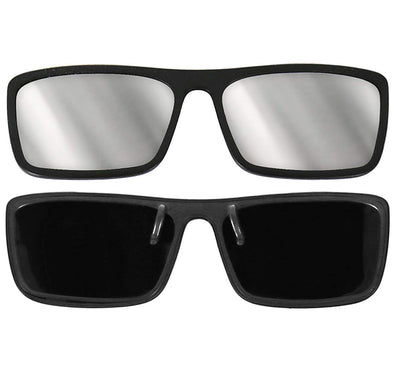 Plastic Eclipse Glasses - Clip-on Frame - CE & ISO Certified