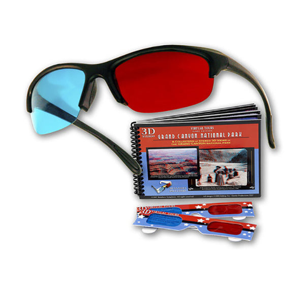 Pro-X Anaglyph 3D Glasses