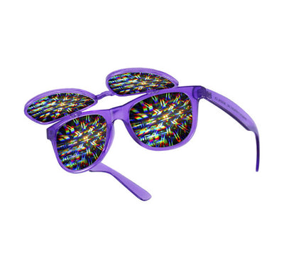 Diffraction Double Flip Up Glasses