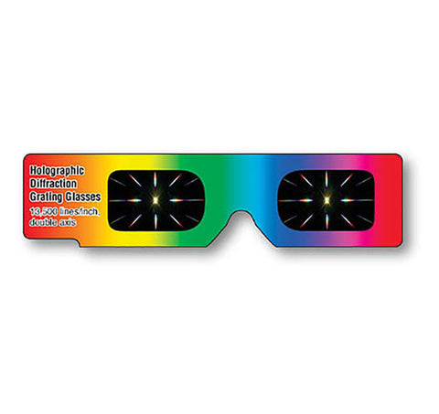 hand held diffraction glasses