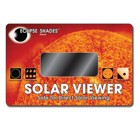 solar viewer - welders glass