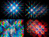 rainbow fireworks images - diffraction glasses - rainbow symphony