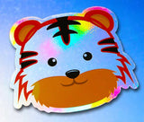 Baby Safari Animals | Rainbow Decals