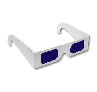 Decoder Glasses - Blue