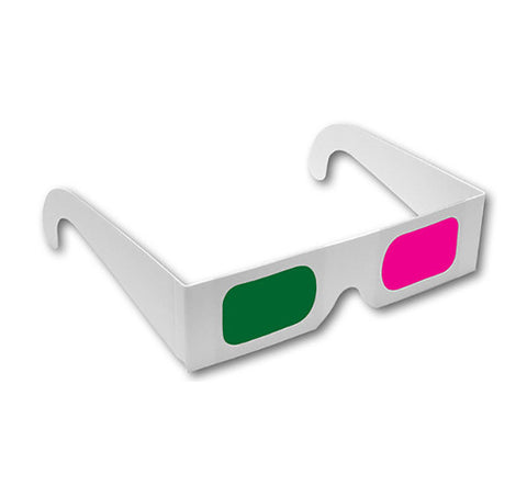 3D Glasses - Magenta Green