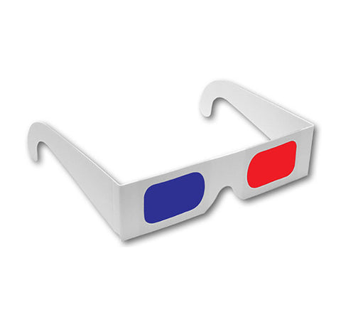 3D glasses - Red/Blue Paper