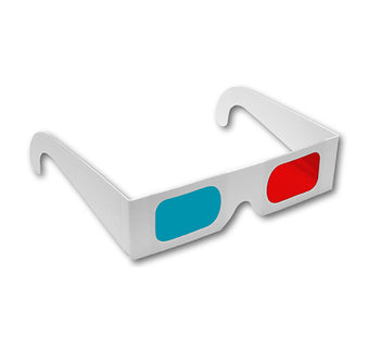 Red/Cyan - Paper 3D glasses