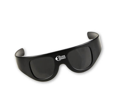 Plastic Eclipse Glasses - Eclipse Shades® - Wrap Around Goggle