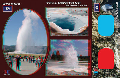 3D Postcards - Wyoming & Montana