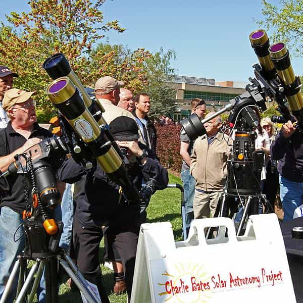 Charlie Bates Solar Astronomy Project - Eclipse Glasses