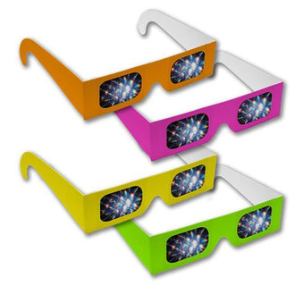 Neon Diffraction Glasses