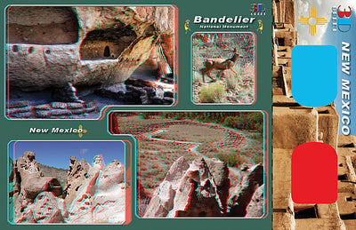 3D Postcard - New Mexico 3