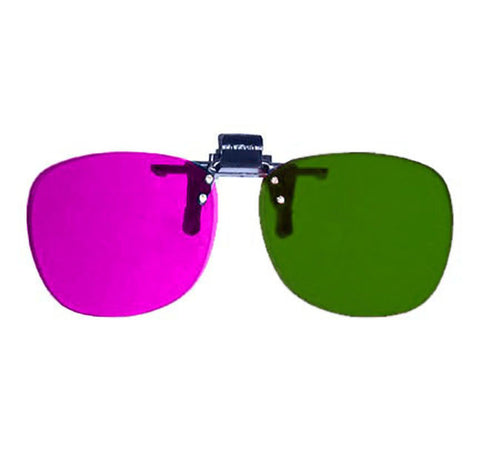 Magenta / Green - Proview Professional Clip-On