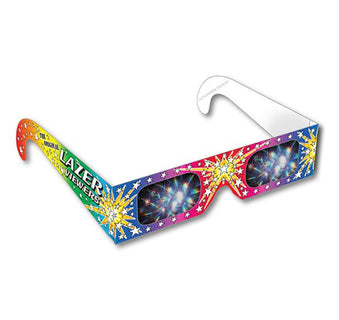3D Fireworks Glasses - Original Laser Viewers