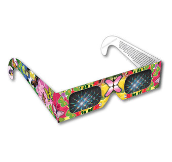 Rainbow Glasses - Flower & Butterfly