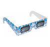 Winter Snowflake Rainbow Glasses