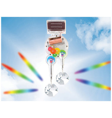 solar rainbow maker double crystal