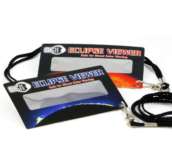Eclipse Viewer Cards with Lanyard - 10 Pack - Great for Kids!!