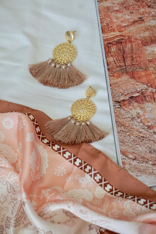 Dance with me Tassel Earrings