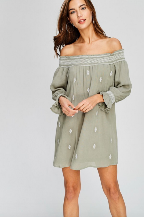 Sasha Off the Shoulder Dress
