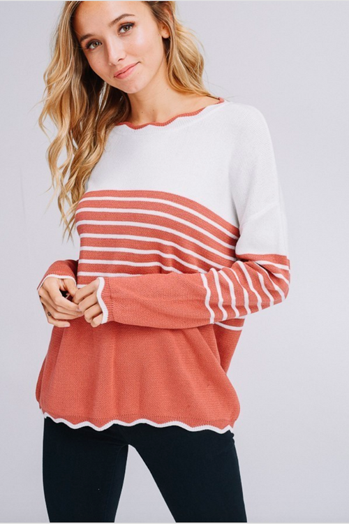 Grace Wave Sweater