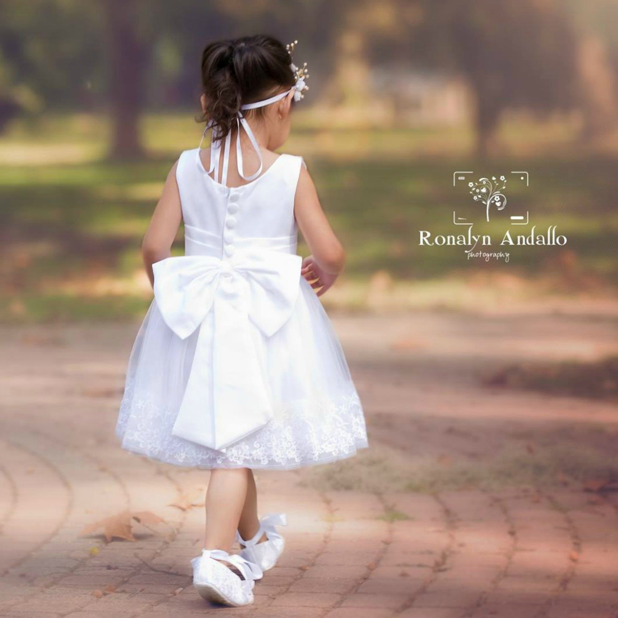 White flower girl dress fleur and lace boutique white flower girl dress mightylinksfo Image collections