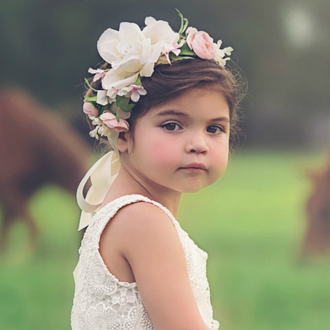 flower girl sash