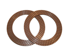 "3N Copper 7"" Rings"