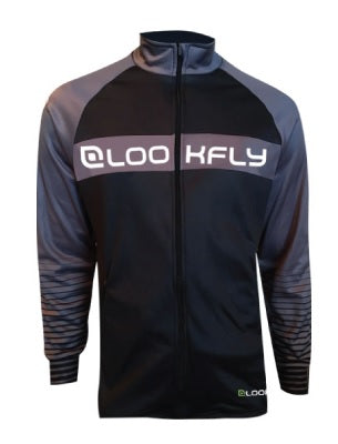 Lookfly Training Jacket - grey front