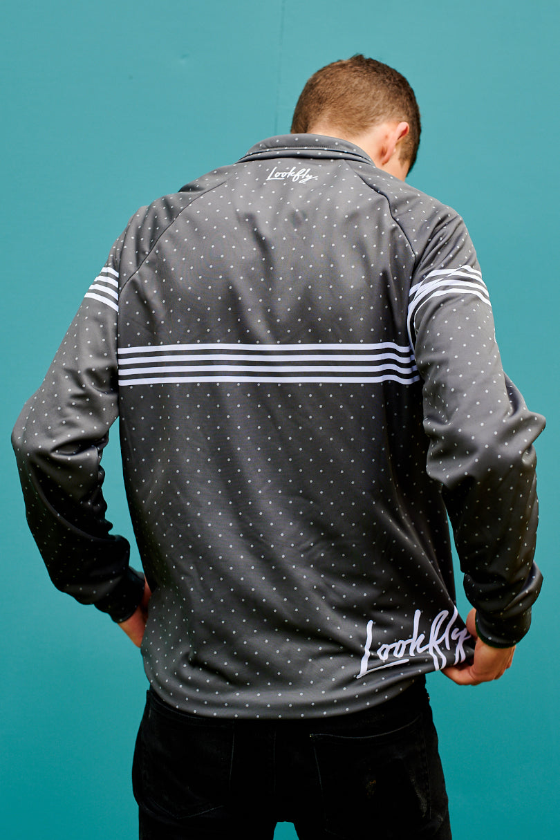 Grey Dots Training Jacket