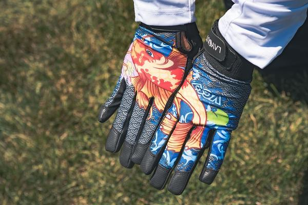 Layout Koi Gloves