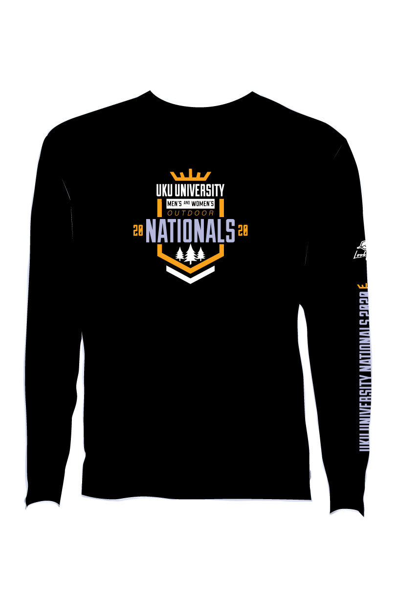 UK Uni Nats 2020 Black Long Sleeve