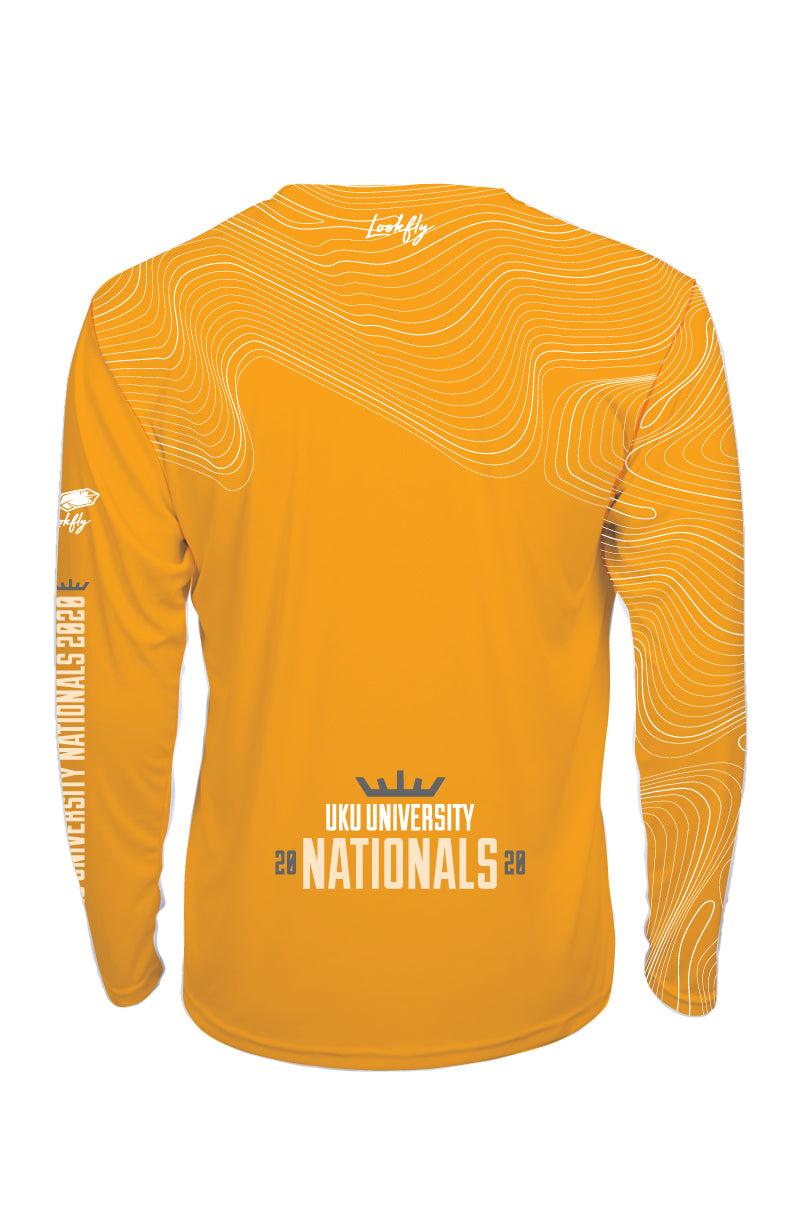 UK Uni Nats 2020 Gold Long Sleeve