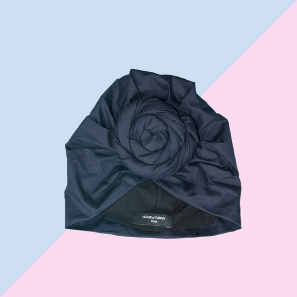 Turban Rosa night blue