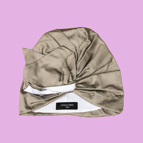 Turban Bird beige