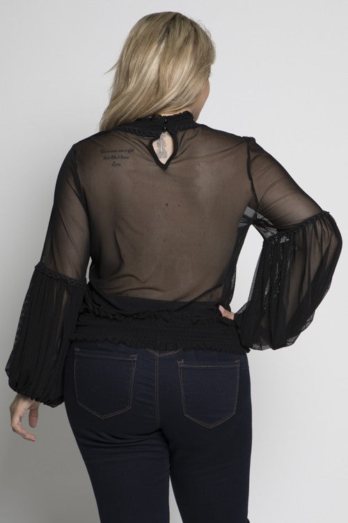 Meshy Blouse