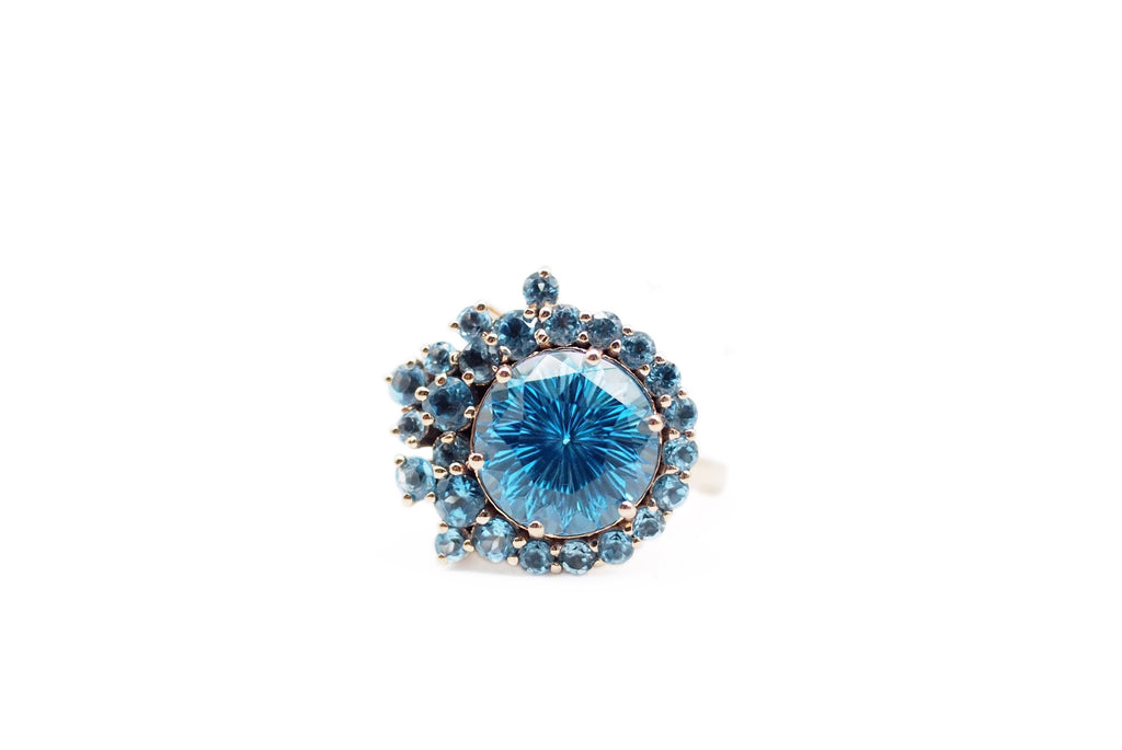 Incredible Topaz Dress Ring