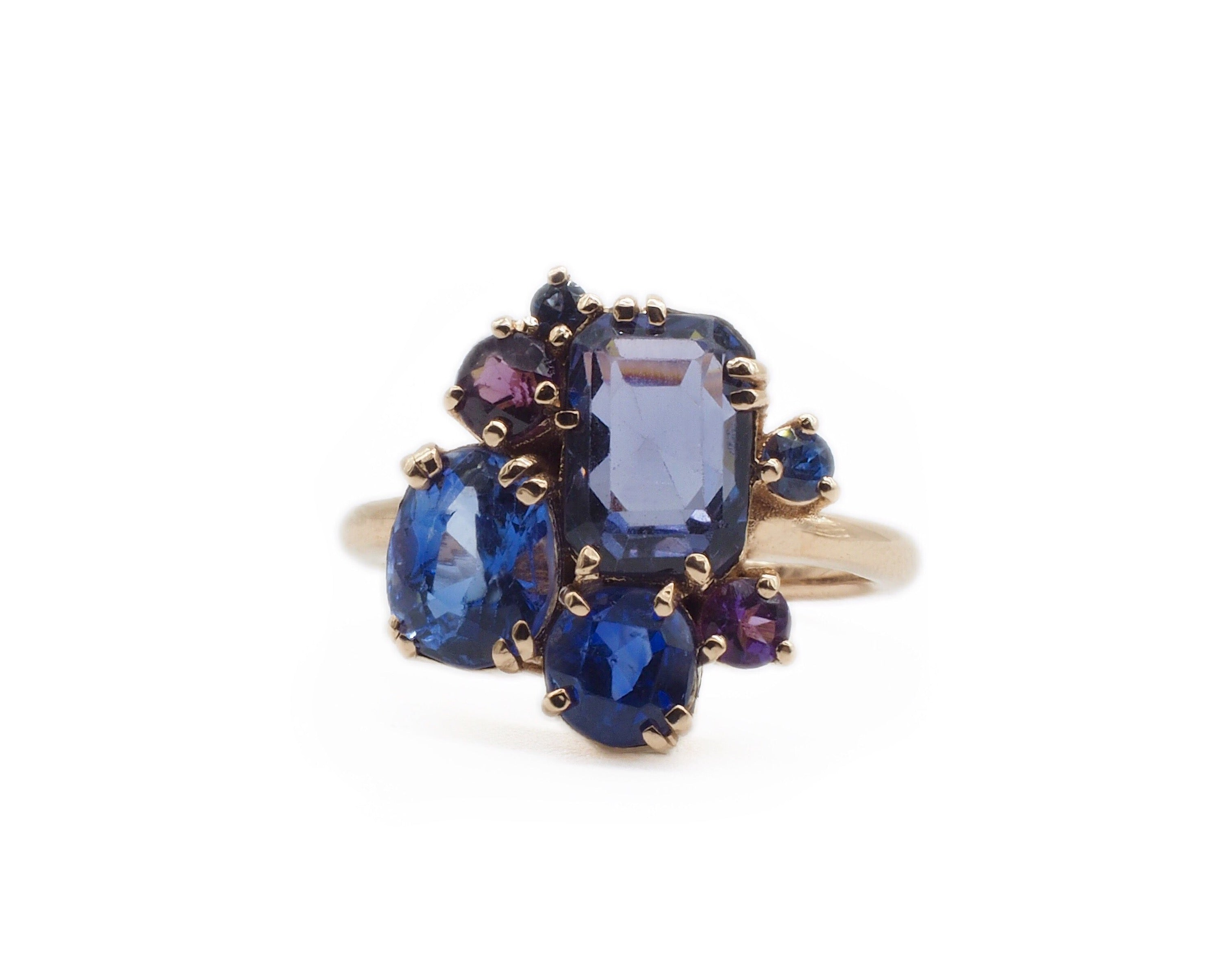 stone uk ring blue london fine modern bs triple marquise angeles wedding rings los jewellery sapphire