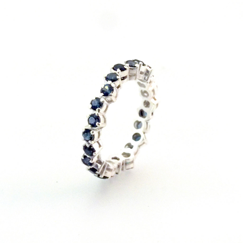 Cluster Eternity Ring