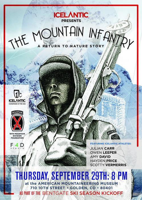 Icelantic x 10th Mountain Division Ski & Film