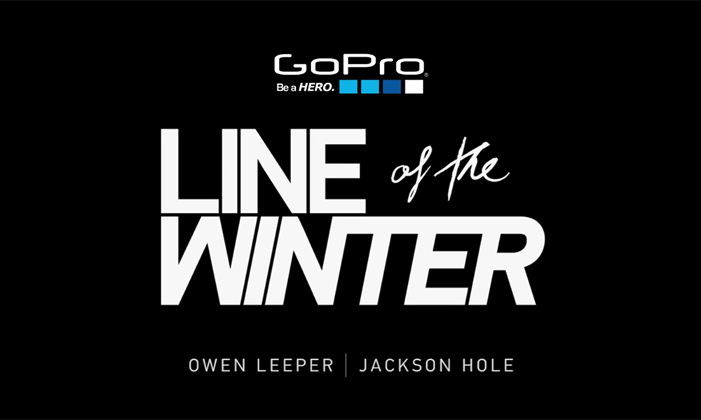 GoPro Line of the Winter: Owen Leeper - Jackson Hole 2.13.15 - Snow
